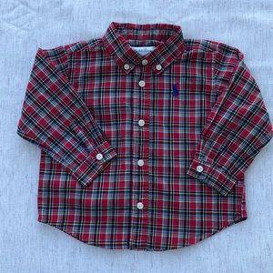Baby Ralph Lauren button down dress shirt size 9 M